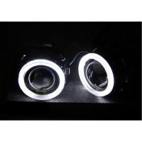 Комплект биксеноновых линз MORIMOTO MINI H1 G5 с Ангельскими Глазками