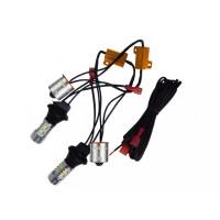 ДХО в поворотники  (в штатное место лампы PY21W/S25)
