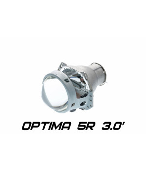 "Бигалогенный модуль Optima 5R 3.0"" H7 под лампу Н7 3.0 дюйма без бленды"