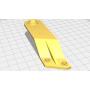 Ремкомплект крепления фар lexus RX (8119348030) ПРАВЫЙ