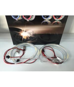 Ангельские глазки BMW E36 Белые, 4-шт.