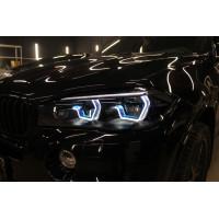Ангельские глазки BMW X5 F85/F86 Blue 3D