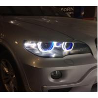Ангельские глазки BMW X5 E70 Blue 3D
