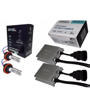 Комплект ксенона DIXEL с обманкой HPL Х5 PRO CANBUS 35W 9-16V AC(H1/H3/H4/H7/H8/H11/HB3/HB4/H27)