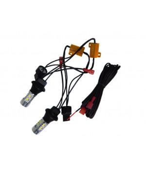 ДХО с функцией поворотника (в штатное место лампы WY21W/T20)