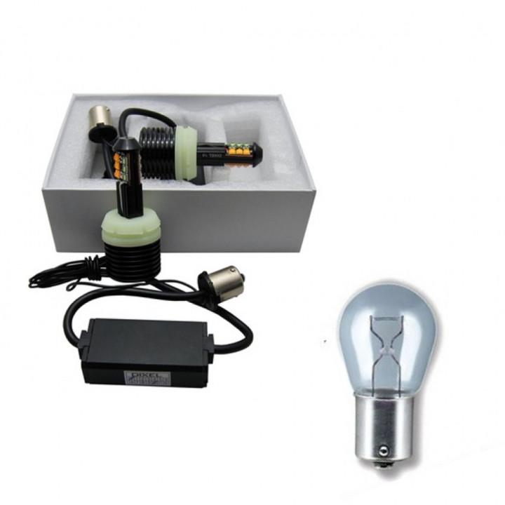 Лампа светодиодная LED S25. ДХО в поворотник