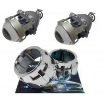 """Комплект бигалогеновых линз с масками MORIMOTO MINI H1 2.5"""" G5 PRO HALOGEN 55"""
