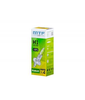 """Галогенная лампа """"MTF Light"""" H1 12V 55W +30% для бигалогеновых линз"""