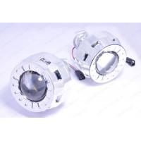 Би-линза G5 MORIMOTO MINI H1 1.8 дюйма (46MM) c маской Круглой
