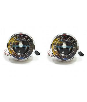 Би-линза G5 MORIMOTO MINI H1 2.0 дюйма c круглой маской CLASSIC