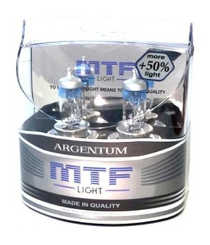 Комплект ламп MTF Light H11 55W Argentum+50%