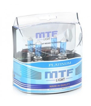 Комлект Ламп MTF HB4 55W Platinum
