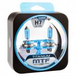 Галогеновые лампы MTF Серия Titanium