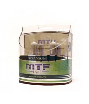 Комплект ламп MTF Light НB3 65W Titanium