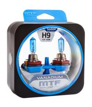 Галогенные автолампы серия VANADIUM H9, 12V, 65W, комплект 2 шт