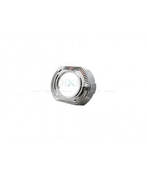 Маска для Линз 3.0 С А/Г. LED 12V (Белый) 2-режима- №361 (Правая