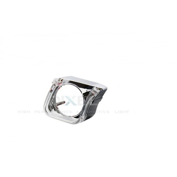 Маска для Линз 2,5 дюйма MINI H1 - С А/Г. LED - (Правая)