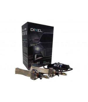 Светодиодные лампы головного света  Dixel G6 H3- 5000K