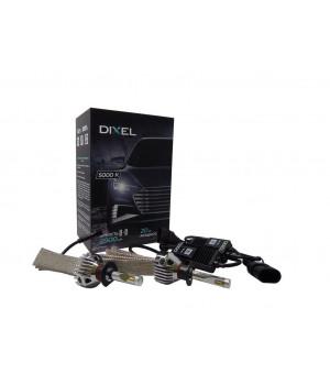 Светодиодные лампы головного света  Dixel G6 H1- 5000K