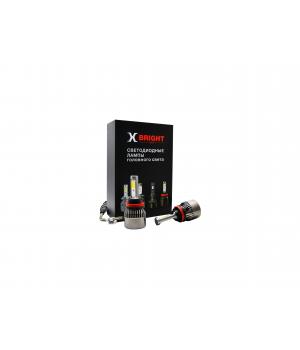 Светодиодная Лампа X-BRIGHT A8+3 COB H11 3000/4100/5000K.