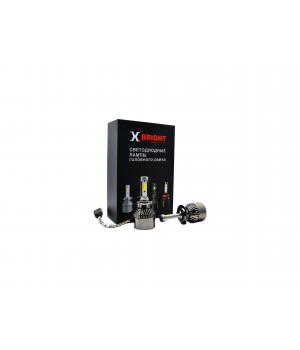Светодиодная Лампа X-BRIGHT A8+3 COB H7 3000/4100/5000K.