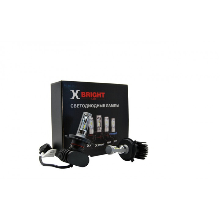Светодиодная Лампа X-BRIGHT H4 Hi/Lo 5000 K