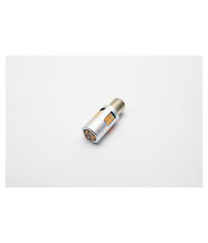 """Лампа светодиодная для поворотника S25 (1156 180"""") 30 SMD (3030) Желтый 12V"""