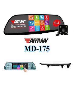 Видеорегистратор ARTWAY MD-175  ANDROID Зеркало
