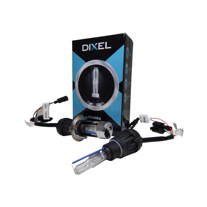 Биксеноновая лампа на керамической основе Dixel UXV CERAMICK +30% H4