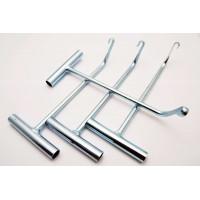 Инструмент расклеивания неразборных фар- 4 предмета (металлический)