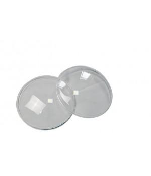 Гладкие стекла фар ВАЗ 2101/УАЗ/НИВА (пара)