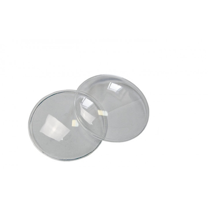 Гладкие стекла фар ВАЗ 2106 (пара)