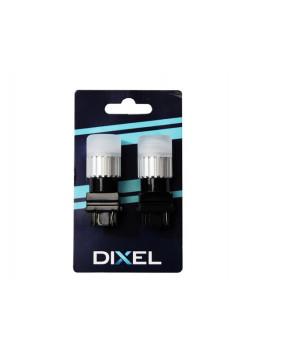Светодиодная лампа DIXEL P27W/7W (T25) (3157) 3 LED (1860) Белый 360° (Не полярный) Can-bus 12-24V