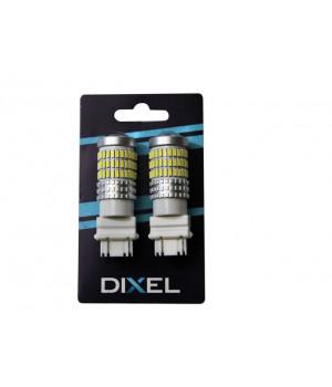 Светодиодная лампа DIXEL P27W/7W (T25) (3157) 84 SMD (4014) Белый (Не полярный) Can-bus 12V