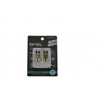 Светодиодная лампа DIXEL (W5W) T10 3 SMD (3030) Can-Bus (5000К) 12V