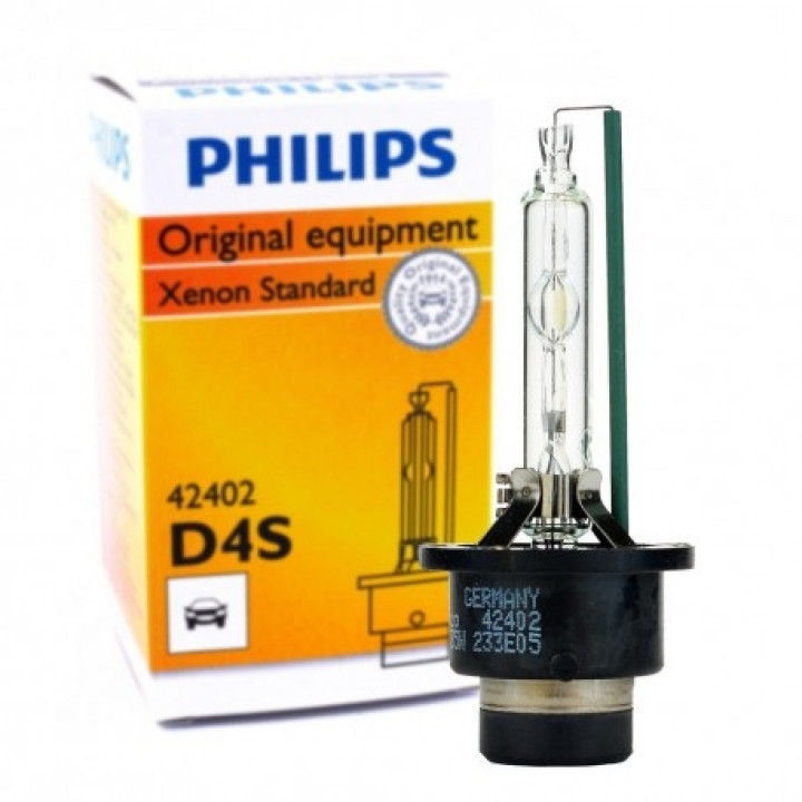 Лампа ксенон PHILIPS D4S 4300K