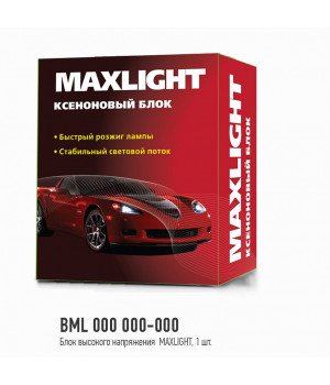 Блок высокого напряжения MaxLight