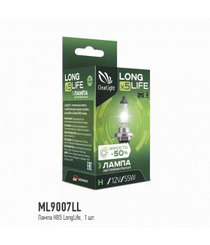 Лампа HB5(Clearlight)12V-65/45W LongLife