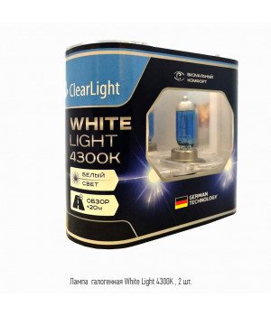 Лампа H27(Clearlight)12V-55W WhiteLight (2 шт.)