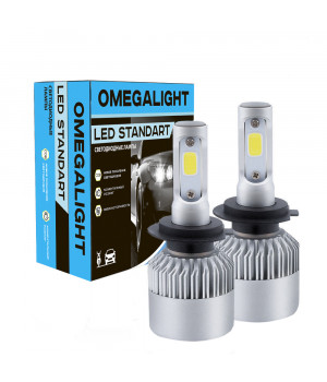 Лампа LED Omegalight Standart H1 2400lm (2шт)